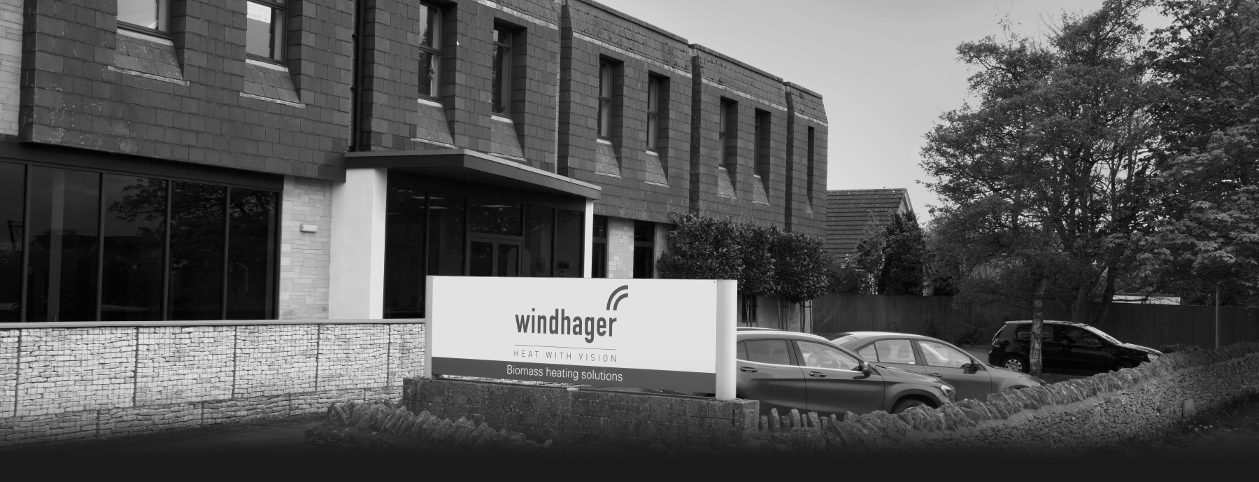 Exterior of Space 365 offices - shared with Windhager UK